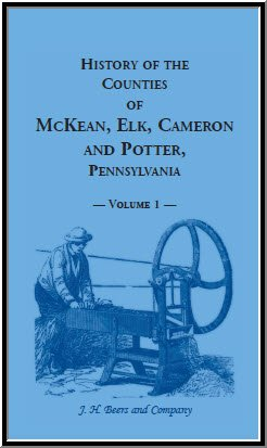 History of the Counties of McKean, Elk,