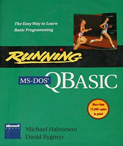 9781556153402: Running MS-DOS QBASIC