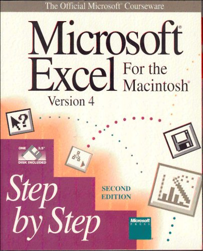 9781556154799: Microsoft EXCEL Version 4 for the Macintosh Step by Step