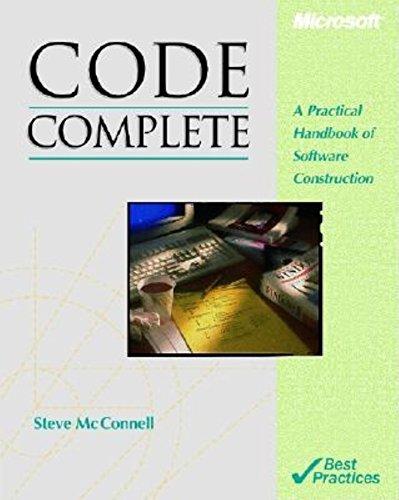 9781556154843: CODE COMPLETE