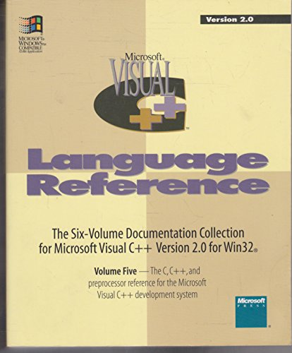 005: Microsoft Visual C++: Development System for Windows and Windows Nt Version 2.0 (9781556158049) by Microsoft