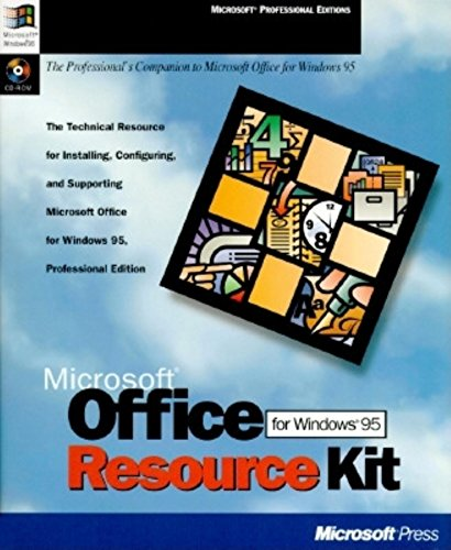 9781556158186: Microsoft Office for Windows 95 Resource Kit: The Technical Resource for Installing, Configuring, and Supporting Microsoft Office for Windows 95 P (Microsoft Professional Editions)