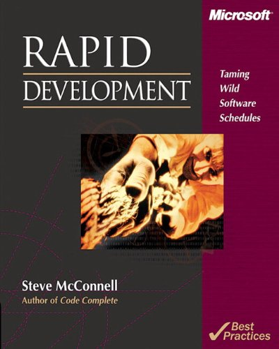 9781556159008: Rapid Development: Taming Wild Software Schedules
