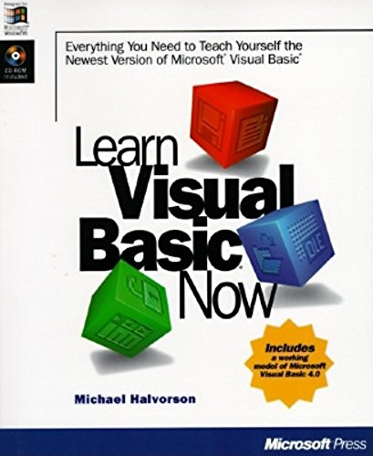 9781556159053: Learn Visual Basic Now: Everything You Need to Teach