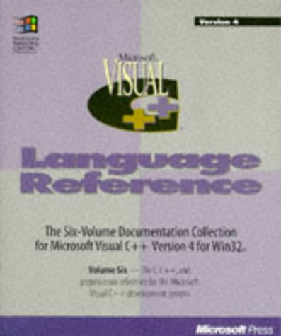 9781556159251: Microsoft Visual C++: C Language Reference: 006