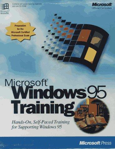 9781556159312: Microsoft Windows 95 Training Kit