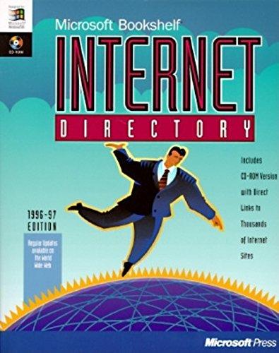 9781556159473: Microsoft Bookshelf Internet Directory