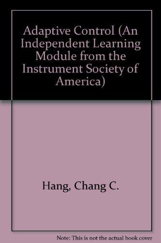 Adaptive Control: Hang, Chang C.;