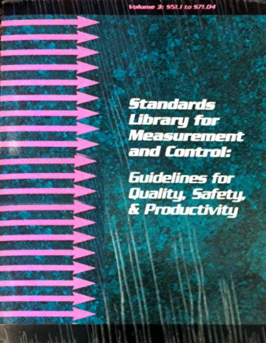9781556175275: Standards Library for Measurement and Control: Guidelines for Quality, Safety, and Productivity