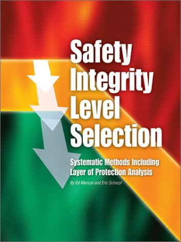 9781556177774: Safety Integrity Level Selection: Systematic Methods Including Layer of Protection Analysis