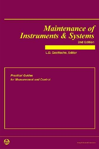 9781556178795: Maintenance of Instruments & Systems: Practical Guides For Measurement And Control (Practical Guides for Measurement and Control)