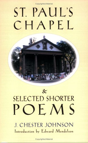 9781556182112: St. Paul's Chapel and Selected Shorter Poems