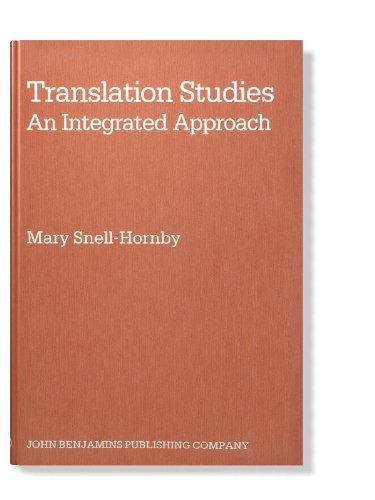 development of translation studies and approaches The development of translation studies (ts) as a discipline has, at times, been   diagnosed) tension between linguistic and cultural approaches to translation.