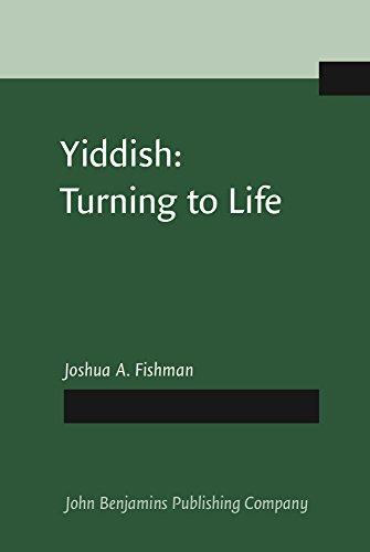 9781556191114: Yiddish: Turning to Life