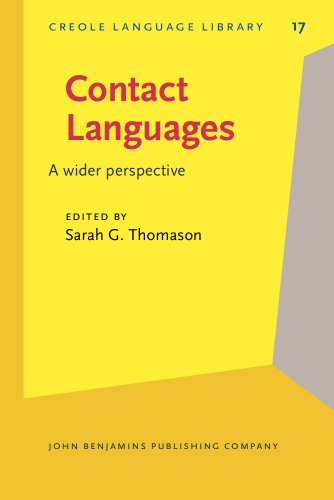 9781556191725: Contact Languages: A wider perspective (Creole Language Library)