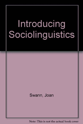 9781556192050: Introducing Sociolinguistics