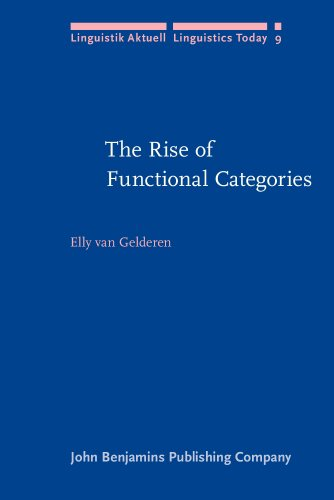 9781556192272: The Rise of Functional Categories (Linguistik Aktuell/Linguistics Today)