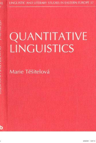 9781556192623: Quantitative Linguistics (Linguistic and Literary Studies in Eastern Europe)