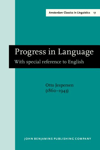 9781556193149: Progress in Language: With Special Reference to English (Amsterdam Studies in the Theory and History of Linguistic Science. Series I : Amsterdam Cla)