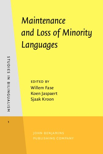 9781556193446: Maintenance and Loss of Minority Languages (Studies in Bilingualism)