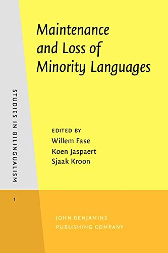 Maintenance and Loss of Minority Languages (Studies in Bilingualism): Fase, William; Jaspaert, Koen...