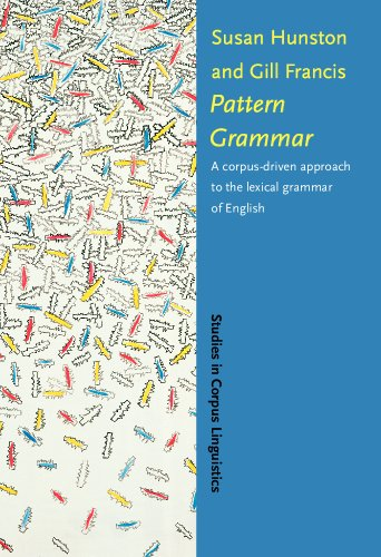 Pattern Grammar: A corpus-driven approach to the lexical grammar of English (Studies in Corpus ...