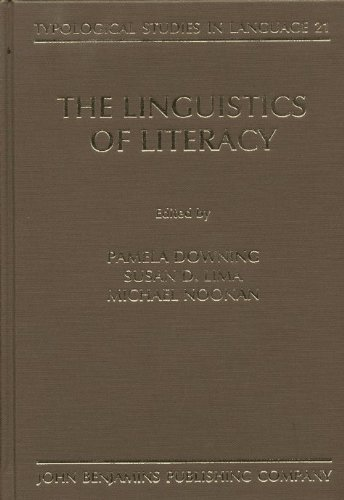9781556194078: The Linguistics of Literacy (Typological Studies in Language)