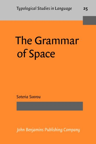 9781556194146: The Grammar of Space (Typological Studies in Language)