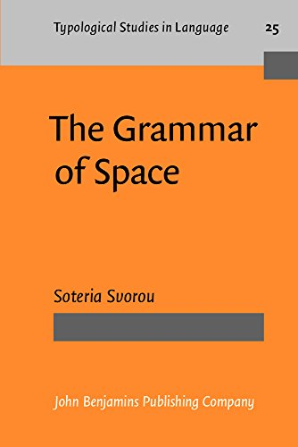 9781556194153: The Grammar of Space (Typological Studies in Language)