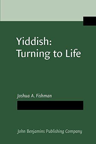 9781556194504: Yiddish: Turning to Life