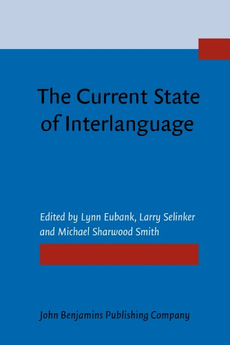 9781556195068: The Current State of Interlanguage: Studies in honor of William E. Rutherford