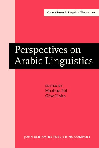 9781556195549: Perspectives on Arabic Linguistics: Papers from the Annual Symposium on Arabic Linguistics. Volume V: Ann Arbor, Michigan 1991 (Current Issues in Linguistic Theory)