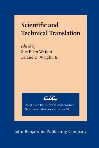 Scientific and Technical Translation (American Translators Association: n/a