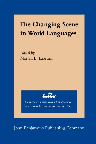 9781556196287: The Changing Scene in World Languages: Issues and challenges (American Translators Association Scholarly Monograph Series)