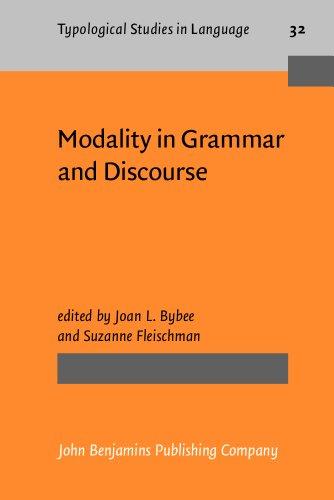 Modality in Grammar and Discourse: Bybee, Joan; Fleischman, Suzanne (eds.)