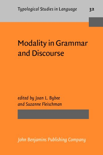 9781556196393: Modality in Grammar and Discourse (Typological Studies in Language)