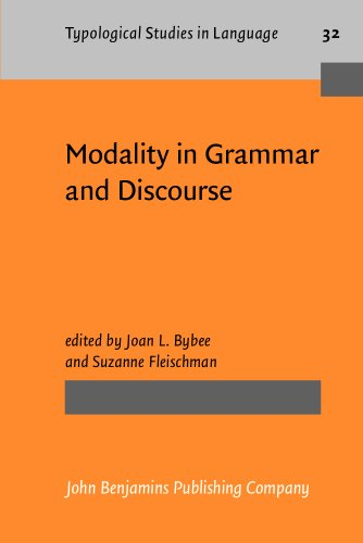 9781556196409: Modality in Grammar and Discourse (Typological Studies in Language)