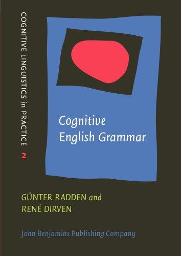 9781556196645: Cognitive English Grammar (Cognitive Linguistics in Practice)