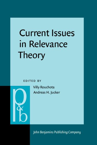 9781556198212: Current Issues in Relevance Theory (Pragmatics & Beyond New Series)