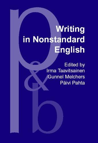 9781556199455: Writing in Nonstandard English (Pragmatics & Beyond New Series)