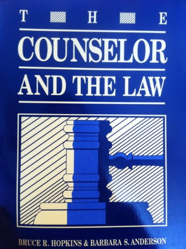9781556200762: Counselor and the Law