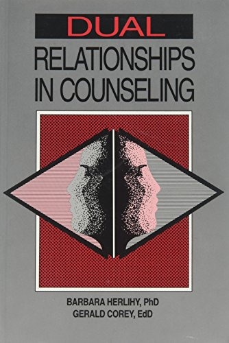 9781556200908: Dual Relationships in Counseling