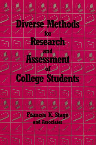 9781556200960: Diverse Methods for Research and Assessment of College Students (American College Personnel Association Series)