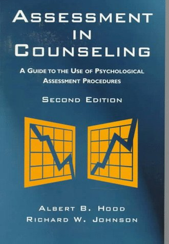 9781556201554: Assessment in Counseling: A Guide to the Use of Psychological Assessment Procedures