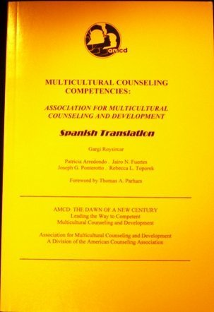 9781556202315: Multicultural Counseling Competencies 2003: Association for Multicultural Counseling and Development