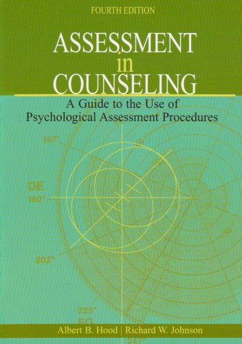 9781556202612: Assessment in Counseling: A Guide to the Use of Psychological Assessment Procedures, 4th Edition