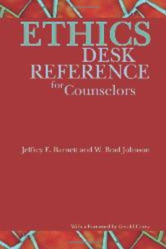 9781556202988: Ethics Desk Reference for Counselors