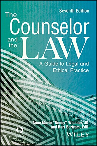 The Counselor and the Law: A Guide: Anne Marie Nancy