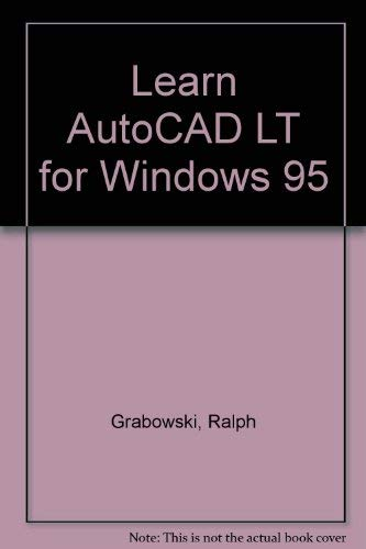 9781556225383: Learn Autocad Lt for Windows 95