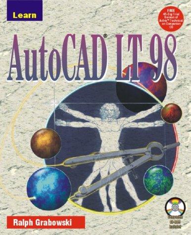 9781556226908: Learn AUTOCAD LT 98